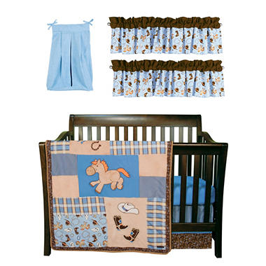 Trend Lab Baby Crib Bedding Set, 6 pc. - Cowboy Baby