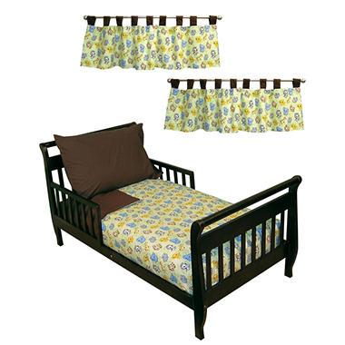 Trend Lab Toddler Bedding Set - Chibi Zoo - 6 pc.