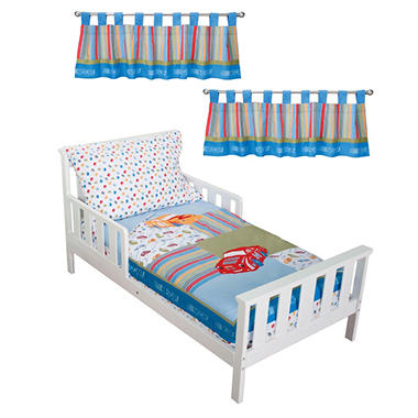 Trend Lab Toddler Bedding Set - Nascar - 6 pc.