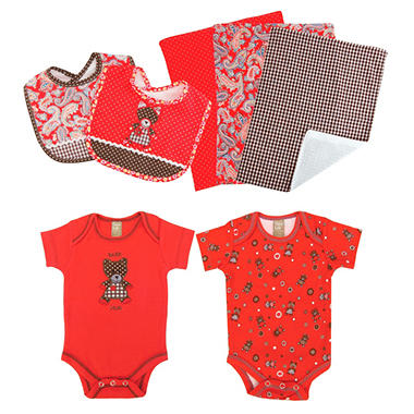 Trend Lab Baby Gift Set - Bear - 7 pc.