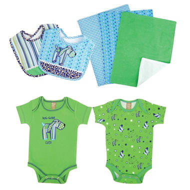 Trend Lab Baby Gift Set - Puppy - 7 pc.