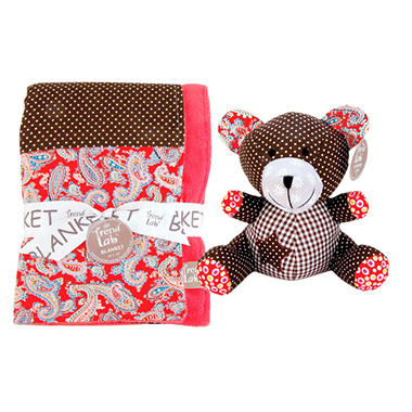Trend Lab Baby Gift Set - Bear - 2 pc.