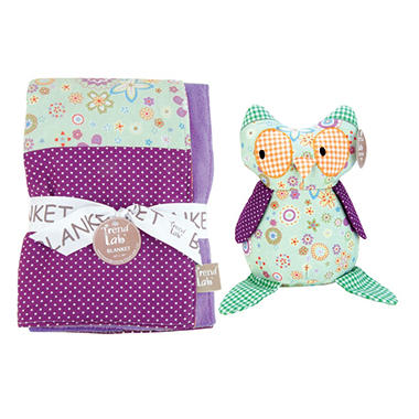 Trend Lab Baby Gift Set - Owl - 2 pc.