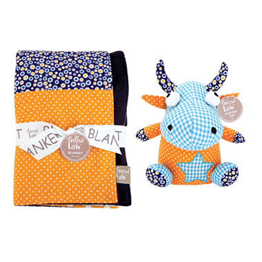 Trend Lab Baby Gift Set - Monster - 2 pc.
