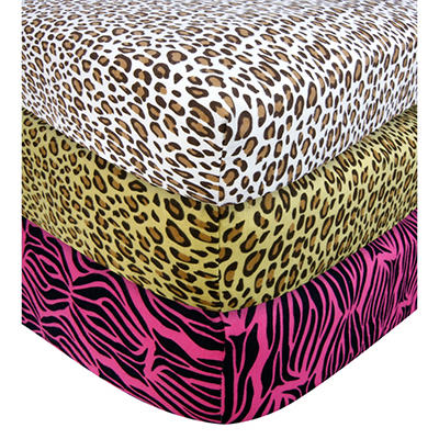 Trend Lab Crib Sheet - Leopard