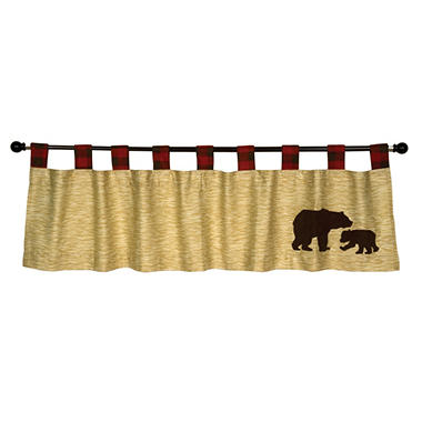 Trend Lab Window Valance - Northwoods