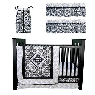 Trend Lab Baby Crib Bedding Set, 6 pc. - Versailles