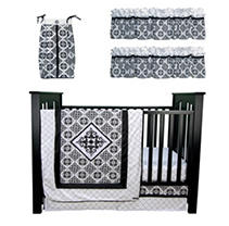 Click here for Trend Lab Baby Crib Bedding Set, 6 pc. - Versaille... prices