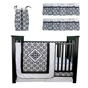 Trend Lab Baby Crib Bedding Set, 6 pc. - Versailles