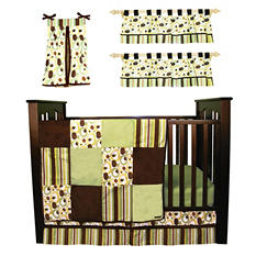Trend Lab Baby Crib Bedding Set, 6 pc. - Giggles