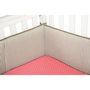 Trend Lab Crib Bumper - Cocoa Mint