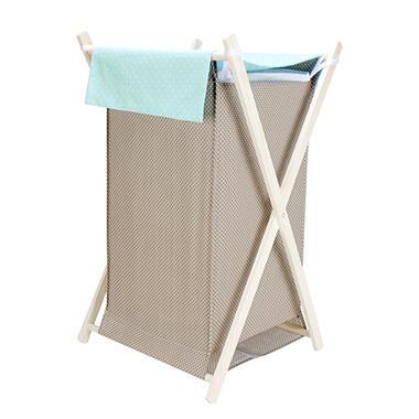 Trend Lab Hamper Set - Cocoa Mint
