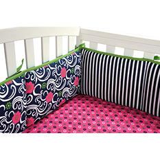 Trend Lab Crib Bumper - Lucy