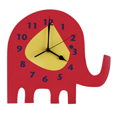 Trend Lab Wall Clock - Elephant Parade
