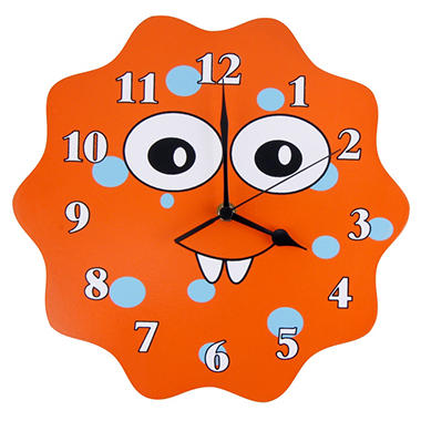 Trend Lab Wall Clock - Snuggle Monster