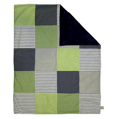 Trend Lab Receiving Blanket - Perfectly Preppy