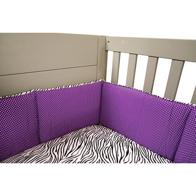 Trend Lab Crib Bumpers - Grape Expectations
