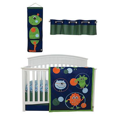 Trend Lab Baby Crib Bedding Set, 5 pc. - Snuggle Monster