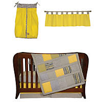 Trend Lab Baby Crib Bedding Set, 5 pc. - Hello Sunshine