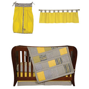 Trend Lab Baby Crib Bedding Set, 5 pc. - Hello Sunshine