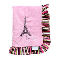 Click here for Waverly Tres Chic Receiving Blanket  Stripe prices