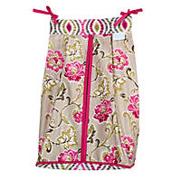 Waverly Jazz Diaper Stacker, Jazzberry Floral