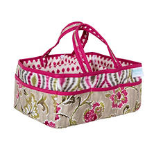 Waverly Jazz Diaper Caddy, Jazzberry Floral