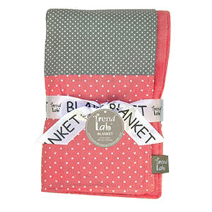 Trend Lab Receiving Blanket, Cocoa Coral