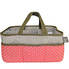 Trend Lab Storage Caddy, Cocoa Coral