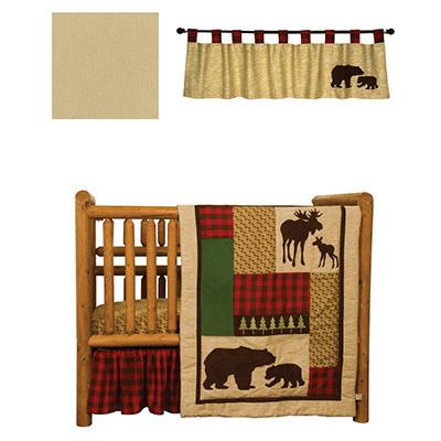 Trend Lab Baby Crib Bedding Set, 5 pc. - Northwoods