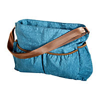 Trend Lab Crinkle Tote Diaper Bag, Blue