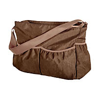 Trend Lab Crinkle Tote Diaper Bag, Brown