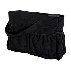 Trend Lab Crinkle Tote Diaper Bag, Black