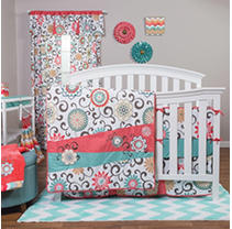 Click here for Waverly POM POM Play 4-Piece Crib Bedding Set  Cor... prices
