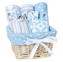 Click here for Trend Lab 7 - Piece Feeding Basket Gift Set  Logan prices