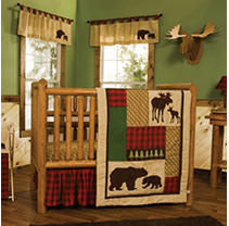Click here for Trend Lab 6-Piece Crib Bedding Set  Northwoods prices
