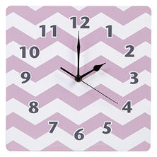 Trend Lab Wall Clock, Purple Orchid Bloom