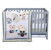 Click here for Trend Lab 6 - Piece Crib Bedding Set  Safari Rock... prices