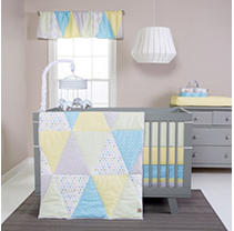 Click here for Trend Lab 3 - Piece Crib Bedding Set  Triangles prices