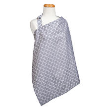 Trend Lab Nursing Cover, Gray Diamond
