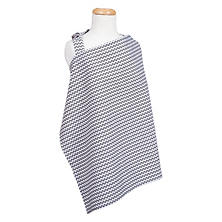 Trend Lab Nursing Cover, Gray Chevron