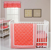 Click here for Trend Lab 3-Piece Crib Bedding Set  Shell prices