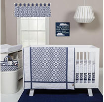 Click here for Trend Lab 3-Piece Crib Bedding Set  Hexagon prices