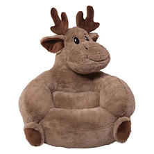 Trend Lab Children's Plush Character Chair, Moose