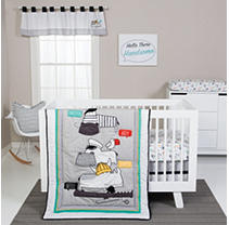 Click here for Trend Lab 4-Piece Crib Bedding Set  Hello prices