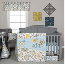 Click here for Waverly Baby by Trend Lab 4-Piece Crib Bedding Set... prices