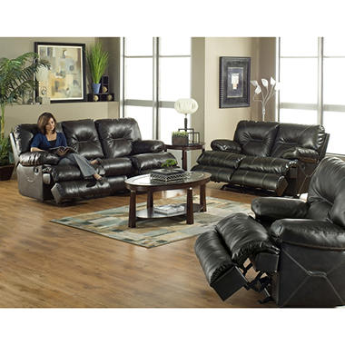 Cortina Pub Back Reclining Living Room - 3 pcs.