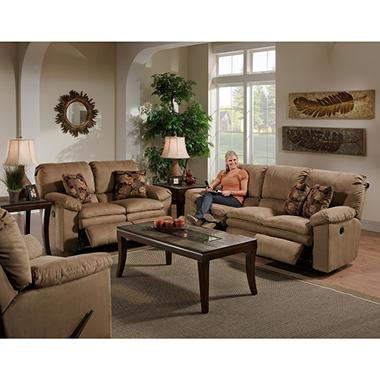 Stimulus Reclining Living Room Set - 3 pc.