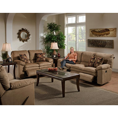 Stimulus Reclining Living Room Set - 3 pc.