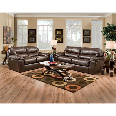 Quest Carlise Living Room Set - 8 pc.
